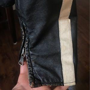 Dolce & Gabbana Jackets & Coats - Dolce & Gabbana leather jacket